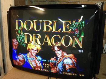 Wells gardner double dragon